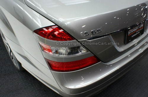 Mercedes Benz Suv >> Chrome Car Letters - OEM Automotive 3D Chrome Lettering ...